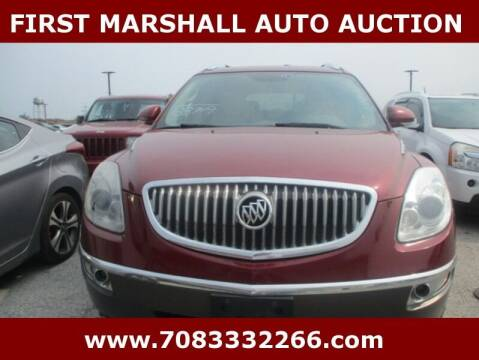 2010 Buick Enclave for sale at First Marshall Auto Auction in Harvey IL