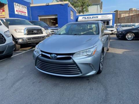 2017 Toyota Camry Hybrid for sale at AGM AUTO SALES in Malden MA