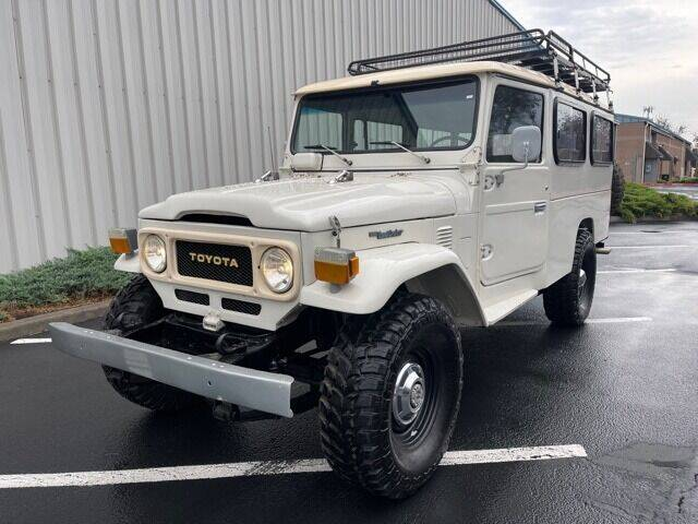 1980 Toyota Land Cruiser for sale at Parnell Autowerks in Bend OR