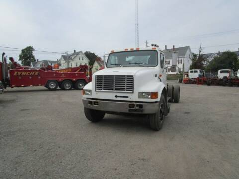 1999 International 4900 for sale at Lynch's Auto - Cycle - Truck Center in Brockton MA