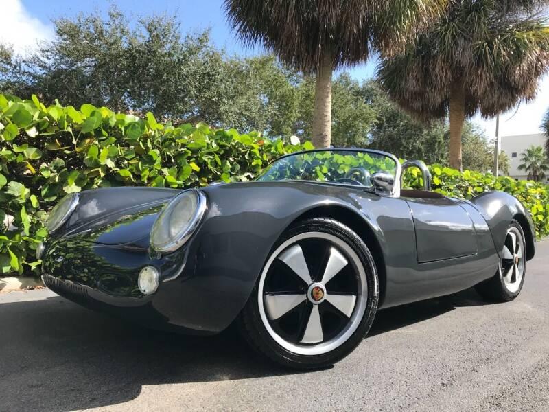1955 Porsche 918 Spyder for sale at DS Motors in Boca Raton FL