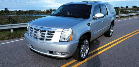 2014 Cadillac Escalade ESV for sale at The Truck Shop in Okemah OK
