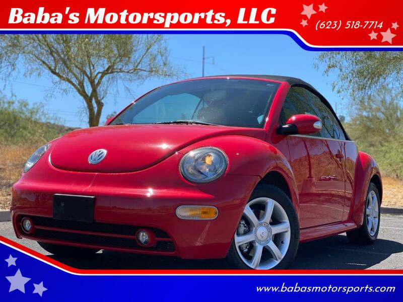2005 Volkswagen New Beetle Convertible GLS 1.8T