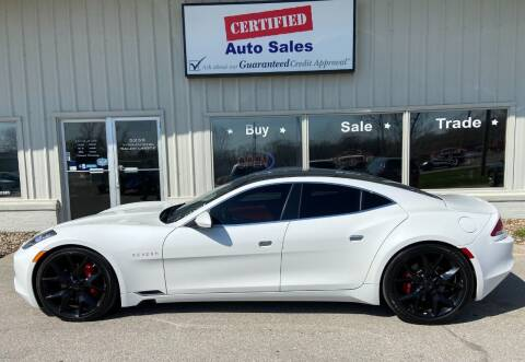 2018 Karma Revero for sale at Certified Auto Sales in Des Moines IA