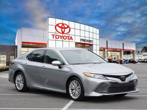 2020 Toyota Camry for sale at PHIL SMITH AUTOMOTIVE GROUP - Pinehurst Toyota Hyundai in Southern Pines NC