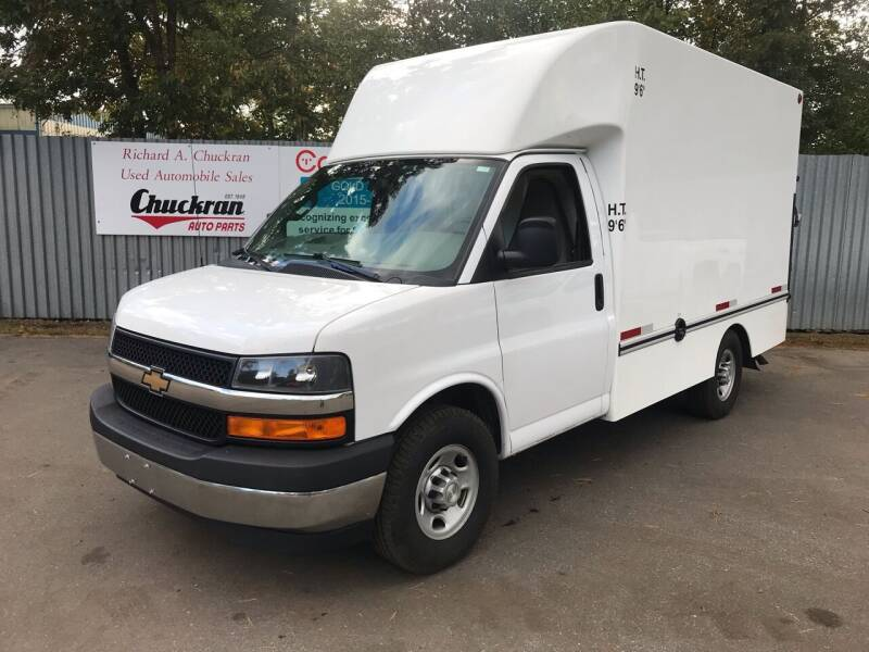 2017 Chevrolet Express Cutaway for sale at Chuckran Auto Parts Inc in Bridgewater MA