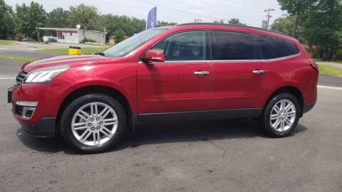 2014 Chevrolet Traverse for sale at Whitmore Chevrolet in West Point VA