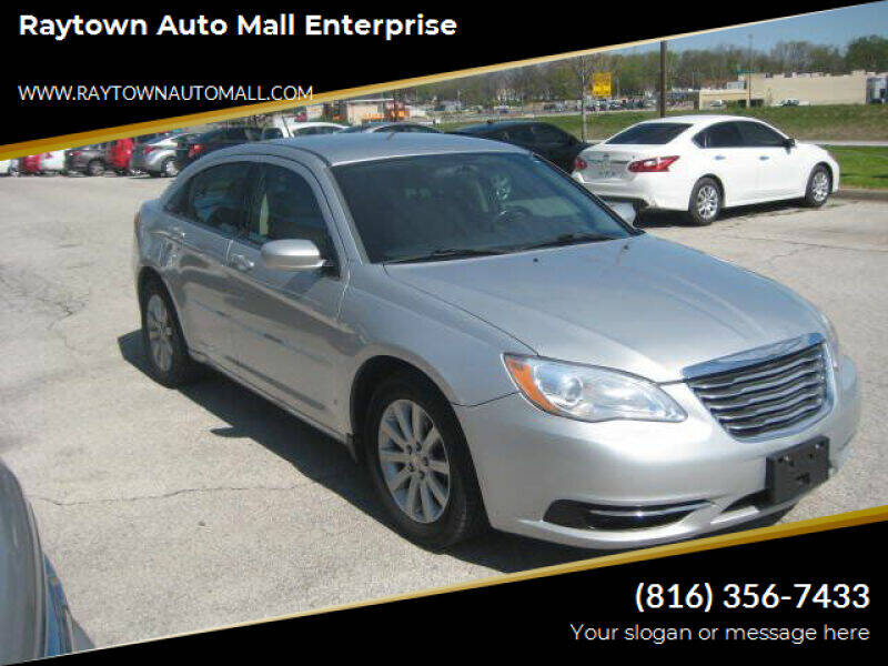 2012 Chrysler 200 for sale at Raytown Auto Mall Enterprise in Raytown MO