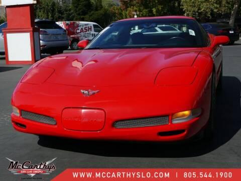 2004 Chevrolet Corvette for sale at McCarthy Wholesale in San Luis Obispo CA