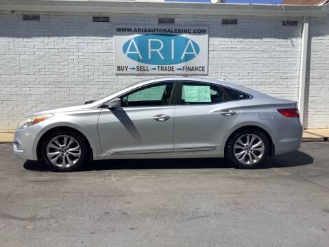 2012 Hyundai Azera for sale at ARIA AUTO SALES INC.COM in Raleigh NC