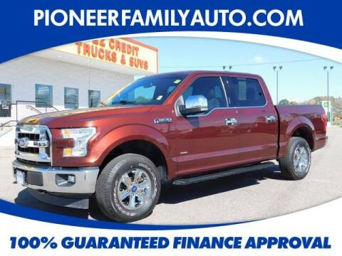 2017 Ford F-150 for sale at Pioneer Family auto in Marietta OH