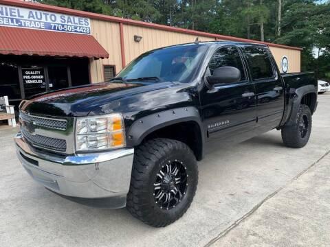 2012 Chevrolet Silverado 1500 for sale at Daniel Used Auto Sales in Dallas GA