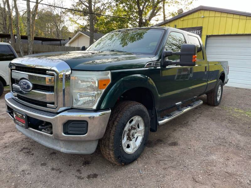 2011 Ford F-250 Super Duty for sale at M & J Motor Sports in New Caney TX