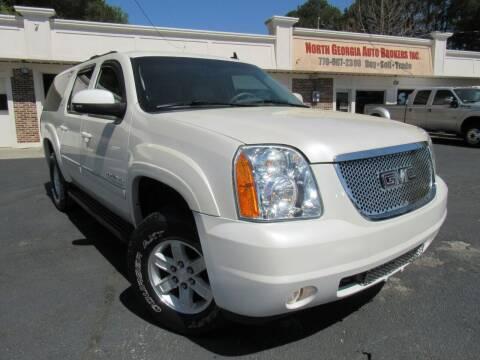 2012 GMC Yukon XL for sale at North Georgia Auto Brokers in Snellville GA
