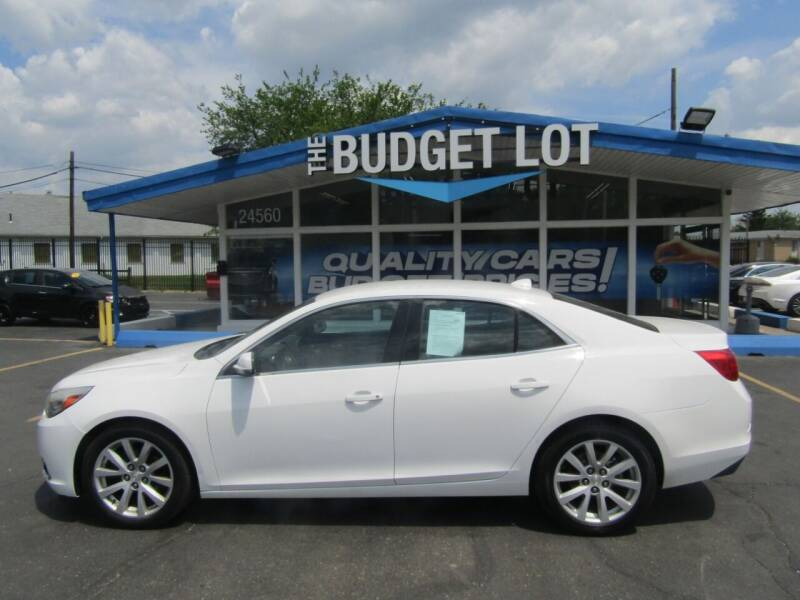 2014 Chevrolet Malibu for sale at THE BUDGET LOT in Detroit MI