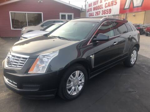 2014 Cadillac SRX for sale at N & J Auto Sales in Warsaw IN