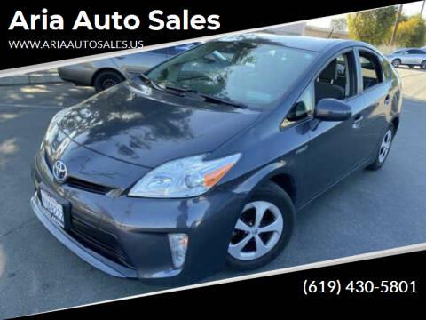 2015 Toyota Prius for sale at Aria Auto Sales in El Cajon CA