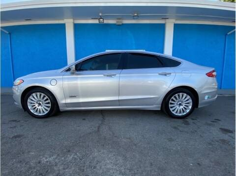 2013 Ford Fusion Energi for sale at Khodas Cars in Gilroy CA