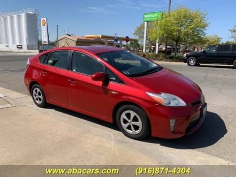 2013 Toyota Prius for sale at About New Auto Sales in Lincoln CA