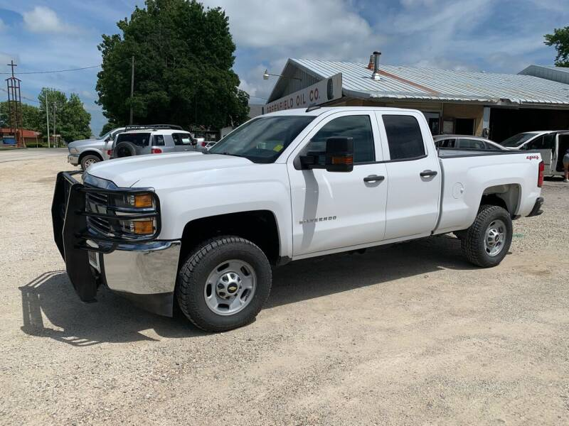 2017 Chevrolet Silverado 2500HD for sale at GREENFIELD AUTO SALES in Greenfield IA