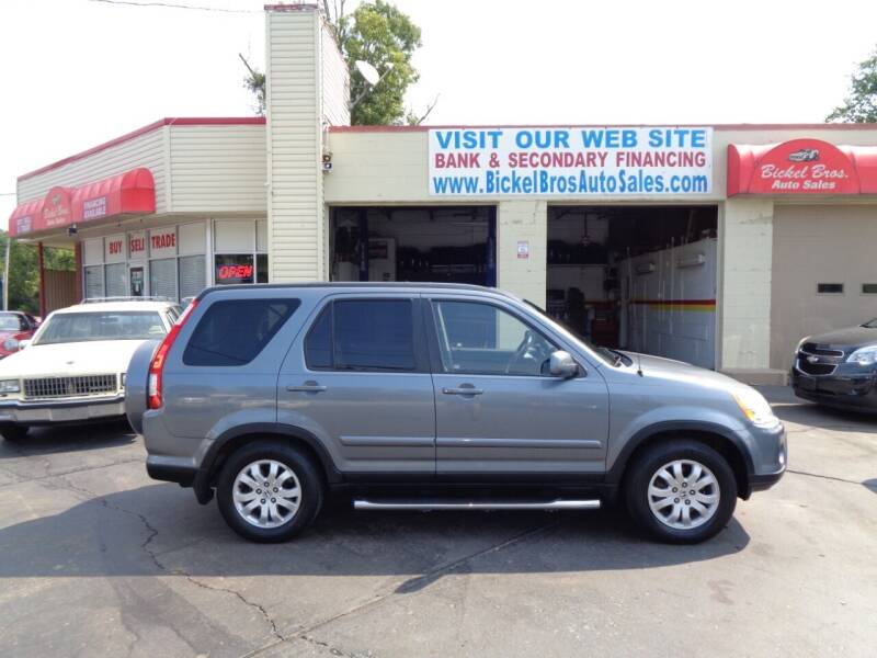 2005 Honda CR-V for sale at Bickel Bros Auto Sales, Inc in Louisville KY