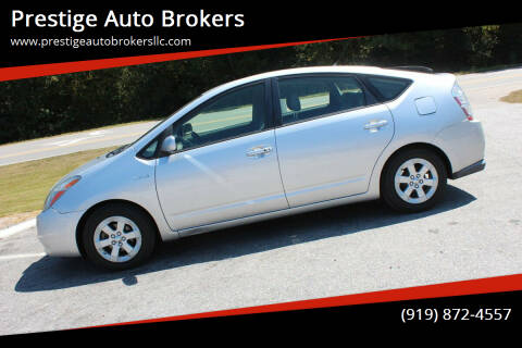 2007 Toyota Prius for sale at Prestige Auto Brokers in Raleigh NC