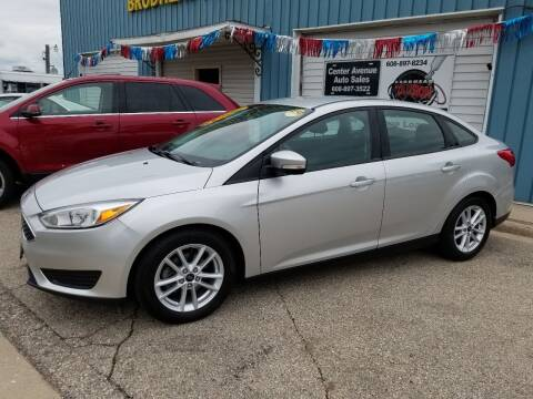 2016 Ford Focus for sale at CENTER AVENUE AUTO SALES in Brodhead WI