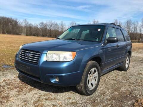 2007 Subaru Forester for sale at GOOD USED CARS INC in Ravenna OH