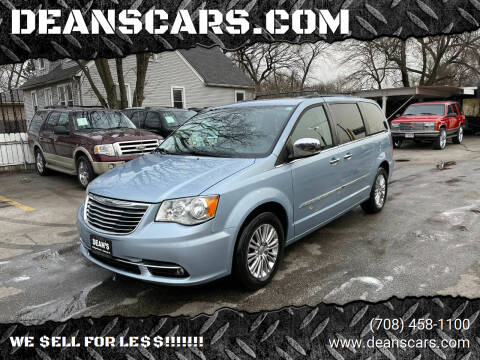 2013 Chrysler Town and Country for sale at DEANSCARS.COM in Bridgeview IL