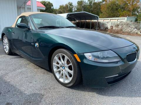 2008 BMW Z4 for sale at GOLD COAST IMPORT OUTLET in St Simons GA