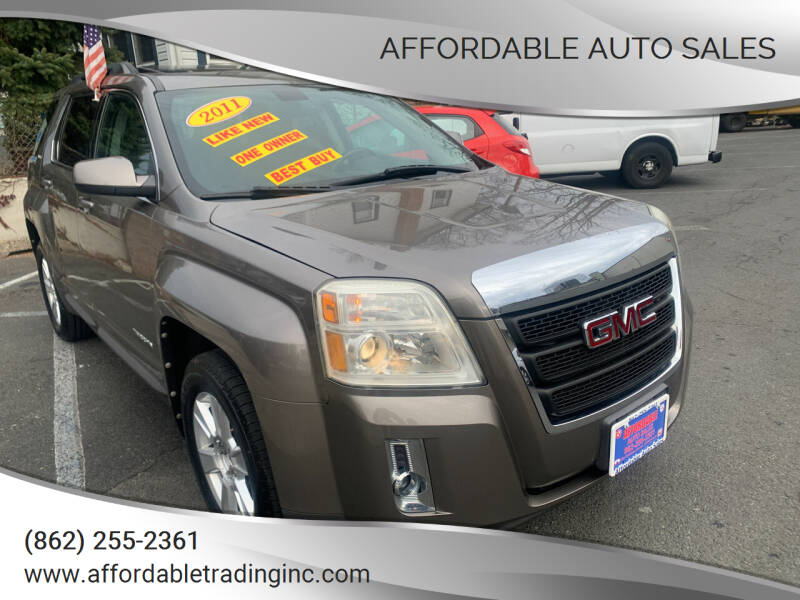 2011 GMC Terrain for sale at Affordable Auto Sales in Irvington NJ