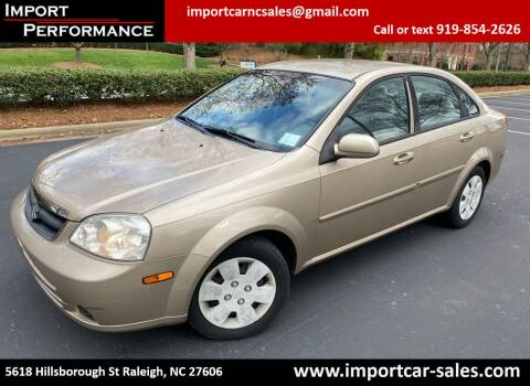 2007 Suzuki Forenza for sale at Import Performance Sales in Raleigh NC