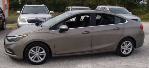 2017 Chevrolet Cruze for sale at Taylor Car Connection in Sedalia MO