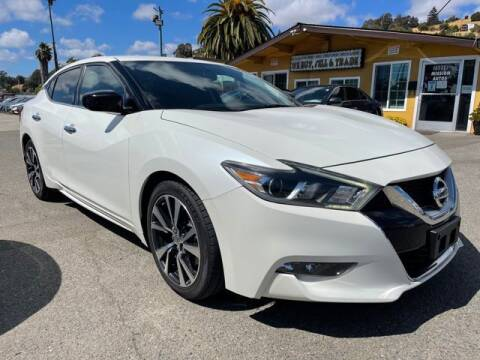 2017 Nissan Maxima for sale at MISSION AUTOS in Hayward CA
