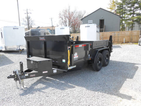 "2021 Forest River Force Dump Trailer 6'8""x12' for sale at Jerry Moody Auto Mart - Trailers in Jeffersontown KY"