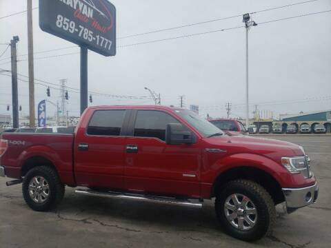 2014 Ford F-150 for sale at Rayyan Auto Sales LLC in Lexington KY