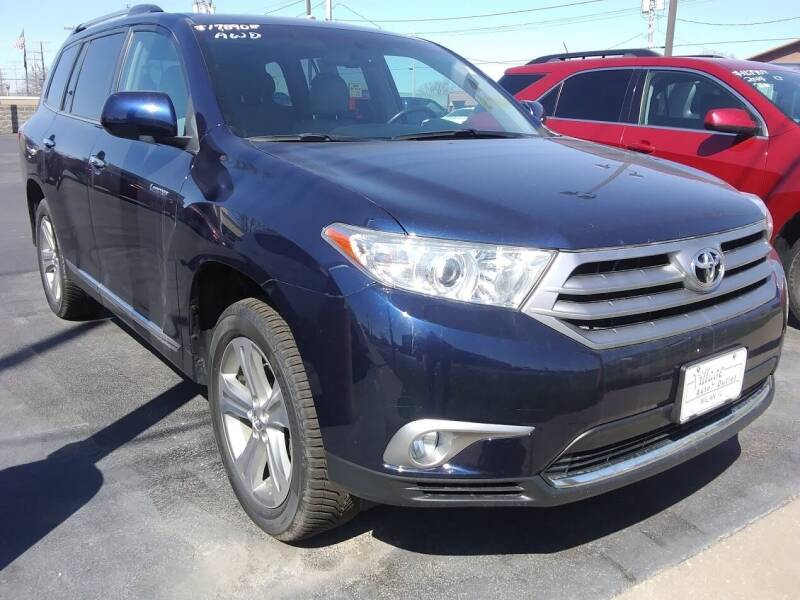 2013 Toyota Highlander for sale at Village Auto Outlet in Milan IL