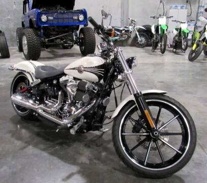 2014 Harley-Davidson FXSB BREAKOUT for sale at Platinum Motors in Portland OR