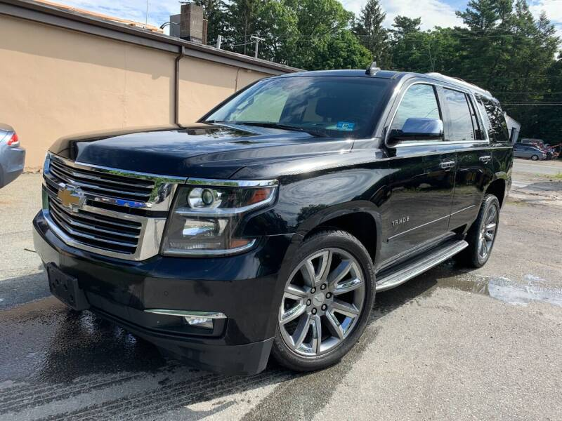 2016 Chevrolet Tahoe for sale at Velocity Motors in Newton MA