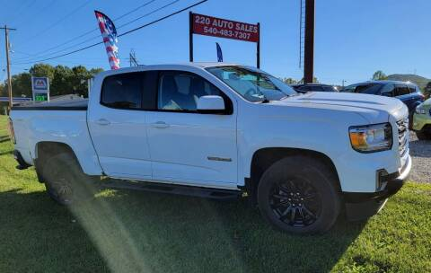 2021 GMC Canyon for sale at 220 Auto Sales in Rocky Mount VA