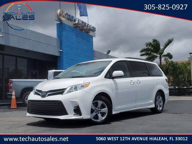 2018 Toyota Sienna for sale at Tech Auto Sales in Hialeah FL