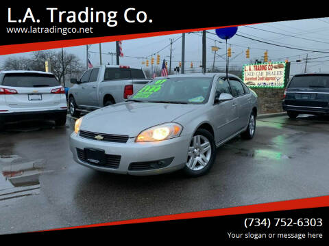 2007 Chevrolet Impala for sale at L.A. Trading Co. in Woodhaven MI
