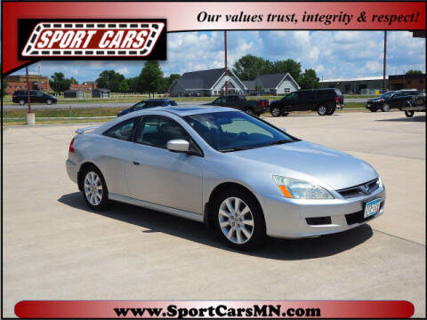 2007 Honda Accord for sale at SPORT CARS in Norwood MN