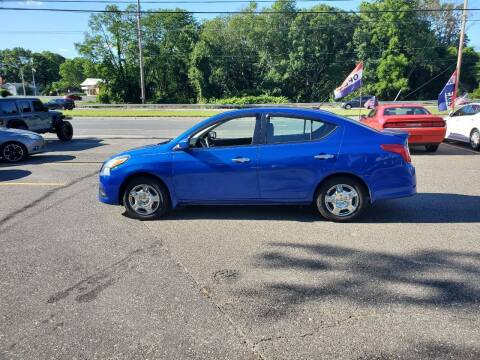 2015 Nissan Versa for sale at CANDOR INC in Toms River NJ