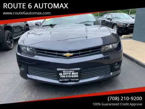 2014 Chevrolet Camaro for sale at ROUTE 6 AUTOMAX in Markham IL