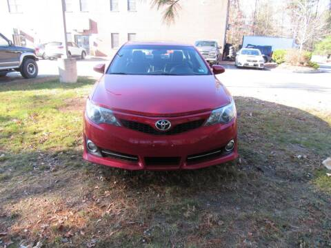 2012 Toyota Camry for sale at Heritage Truck and Auto Inc. in Londonderry NH