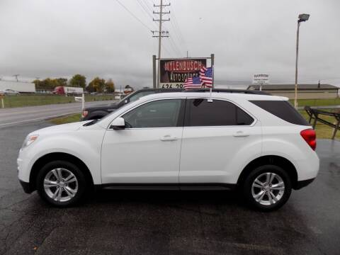 2013 Chevrolet Equinox for sale at MYLENBUSCH AUTO SOURCE in O` Fallon MO