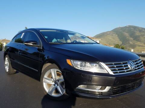 2013 Volkswagen CC for sale at Trini-D Auto Sales Center in San Diego CA