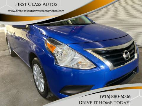 2017 Nissan Versa for sale at Car Source Center in West Sacramento CA