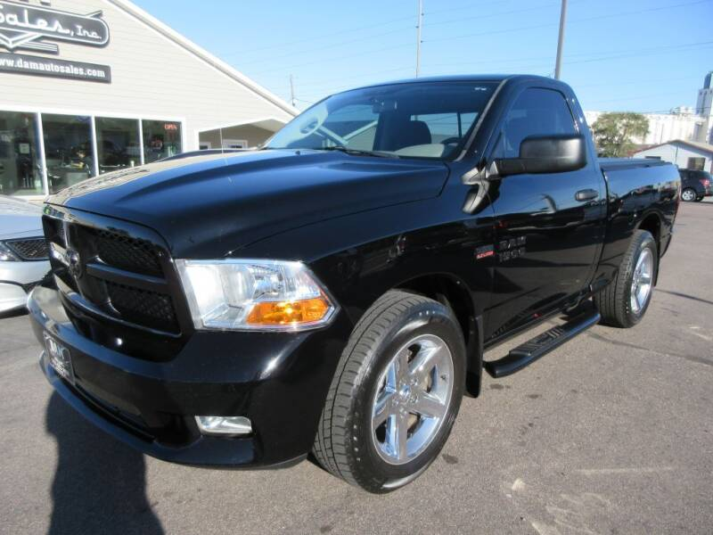2012 RAM Ram Pickup 1500 for sale at Dam Auto Sales in Sioux City IA